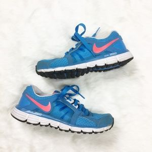 Nike Dual Fusion Running Shoes Blue Athletic sz. 6